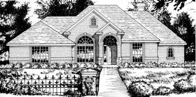 Traditional Style Floor Plans Plan: 9-185