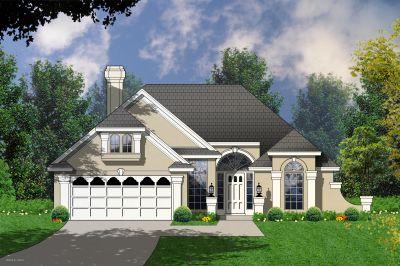Mediterranean Style Home Design Plan: 9-191