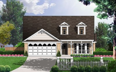 Country Style House Plans Plan: 9-201