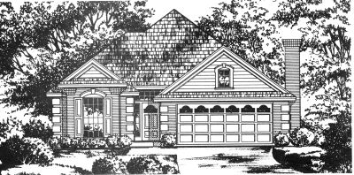 Traditional Style Floor Plans Plan: 9-203