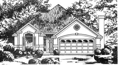 Mediterranean Style Floor Plans Plan: 9-204