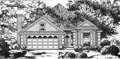 European Style Floor Plans Plan: 9-207