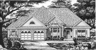Traditional Style Floor Plans Plan: 9-211
