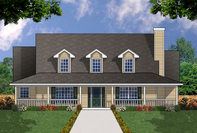 Farm Style House Plans Plan: 9-219