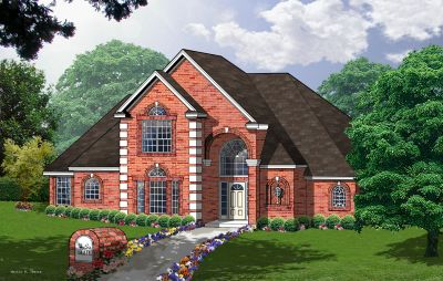 European Style House Plans Plan: 9-226
