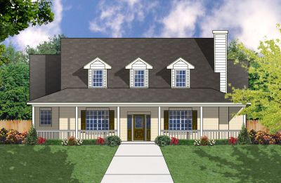 Farm Style House Plans Plan: 9-229