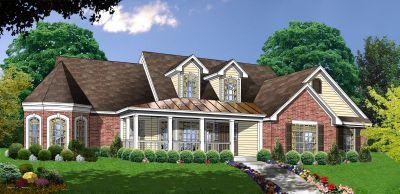 Farm Style House Plans Plan: 9-231