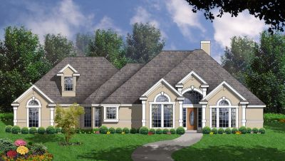 Mediterranean Style House Plans Plan: 9-234