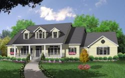 Country Style Floor Plans 9-239