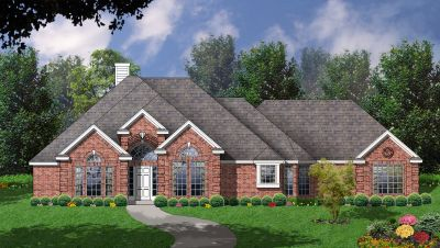 European Style House Plans Plan: 9-242