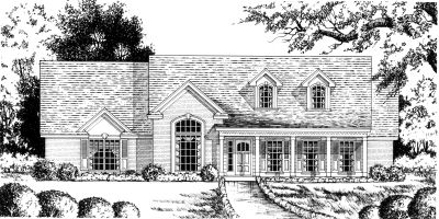Country Style Floor Plans Plan: 9-243