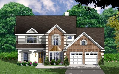 Traditional Style Home Design Plan: 9-244