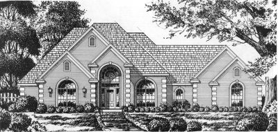 European Style House Plans Plan: 9-246