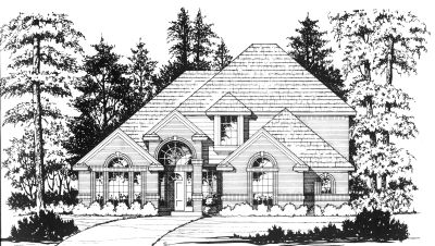European Style Floor Plans Plan: 9-249