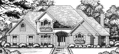 Traditional Style Floor Plans Plan: 9-254
