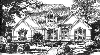 Traditional Style House Plans Plan: 9-257
