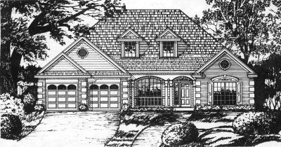 Traditional Style House Plans Plan: 9-258