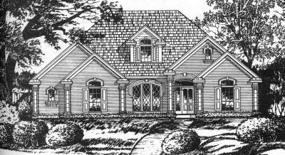 Traditional Style Floor Plans Plan: 9-259
