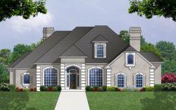 Mediterranean Style House Plans Plan: 9-260