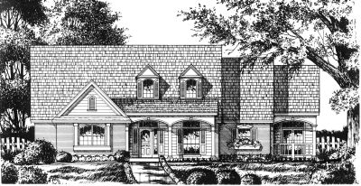 Country Style House Plans Plan: 9-263