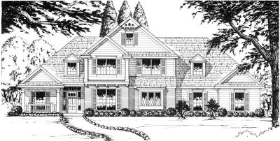 Traditional Style House Plans Plan: 9-266
