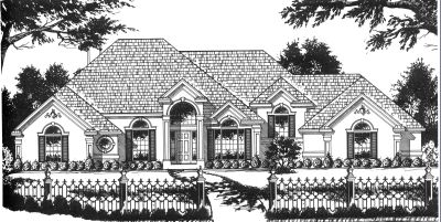 Traditional Style Floor Plans 9-269