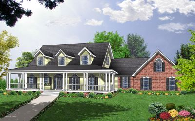 Country Style Floor Plans Plan: 9-272