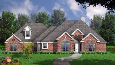 Traditional Style Home Design Plan: 9-276