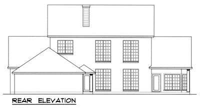 Rear Elevations Plan:9-285