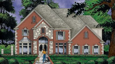 European Style Floor Plans Plan: 9-287