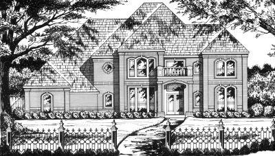 European Style Floor Plans Plan: 9-288