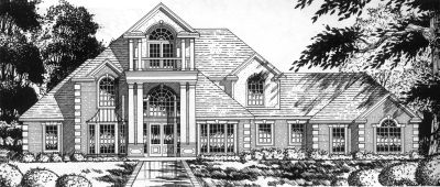 European Style House Plans 9-290