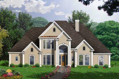 Mediterranean Style House Plans Plan: 9-291