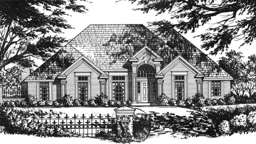 Traditional Style Floor Plans Plan: 9-311