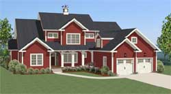 Country Style House Plans Plan: 90-110