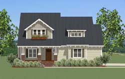 Bungalow Style House Plans Plan: 90-137