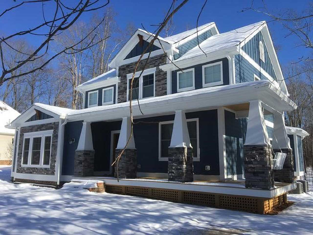 Craftsman Style House Plans Plan: 90-143