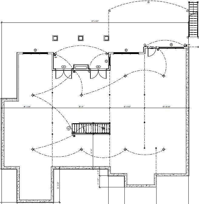 Modern-farmhouse Style Home Design Plan: 90-154
