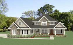 Country Style Floor Plans 90-161