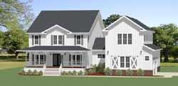 Modern-Farmhouse Style Floor Plans Plan: 90-166