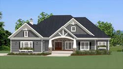 Craftsman Style House Plans Plan: 90-171