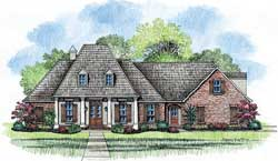 Southern Style Floor Plans Plan: 91-104