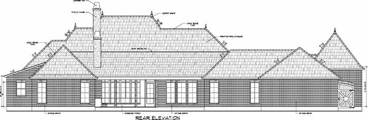 Rear Elevations Plan:91-117