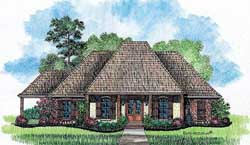 Southern Style House Plans Plan: 91-122