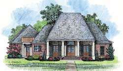 Southern Style House Plans Plan: 91-125