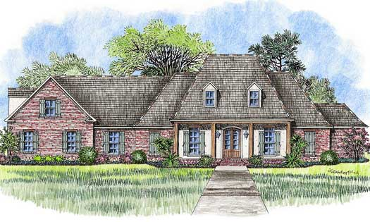 Southern Style House Plans Plan: 91-147