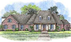 Southern Style Floor Plans Plan: 91-147