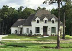 French-Country Style House Plans Plan: 91-148