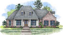 Southern Style House Plans Plan: 91-150