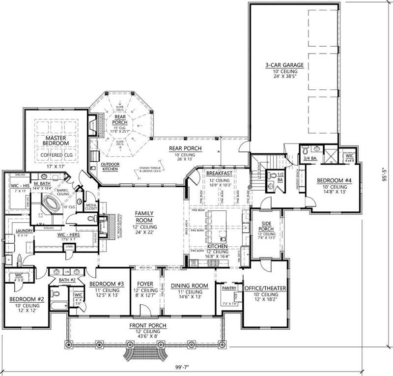 Main Floor Plan: 91-162